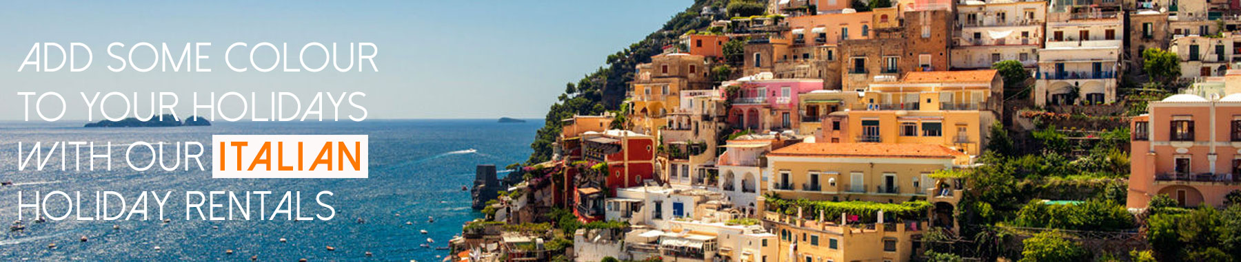 Search for holiday rental properties in Italy